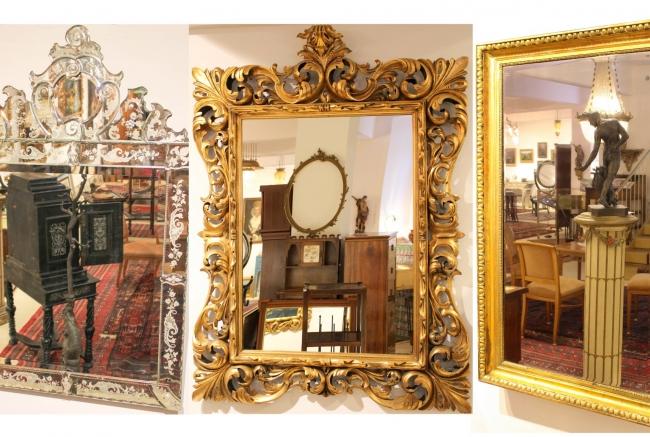 Große Auswahl an Spiegel bei Apfel-Antik